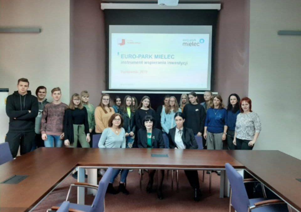 Робоча поїздка викладачів коледжу до Спілки економічних шкіл польського міста Мєлєц