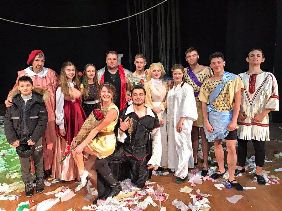Молодіжний театр Silentium представив прем'єру до Дня всіх закоханих
